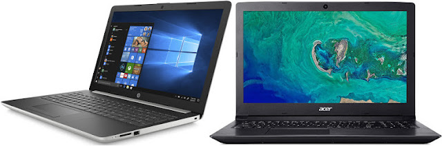 Comparativa mejores portátiles 15,6 pulgadas con Windows por 500 euros
