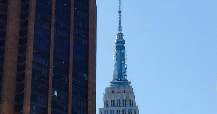 Mommy Blog Expert Empire State Building 3d Art Coin