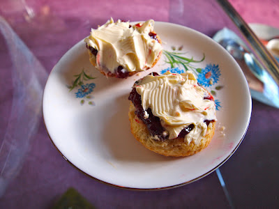 Perfect scone cornish cream tea