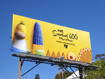 Image result for simpsons billboard on fox