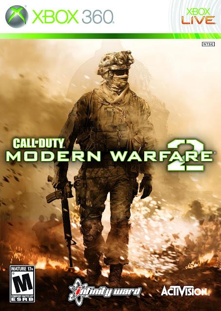 Call Of Duty Modern Warfare 2 - Xbox 360 - Portada
