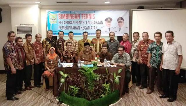 Pemerintah Kecamatan Diminta Jangan Berhenti Berinovasi