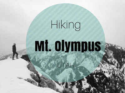 Hiking to Mt. Olympus, Utah