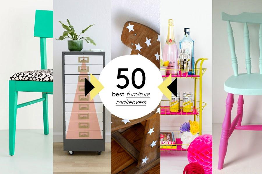 Las 50 mejores transformaciones de muebles