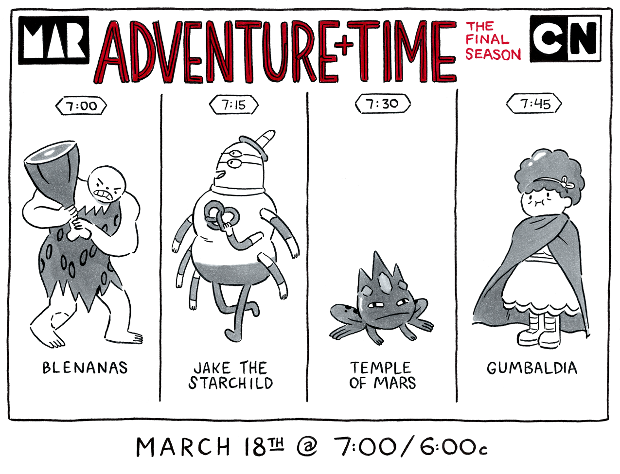 things to do in los angeles adventure time time new episodes