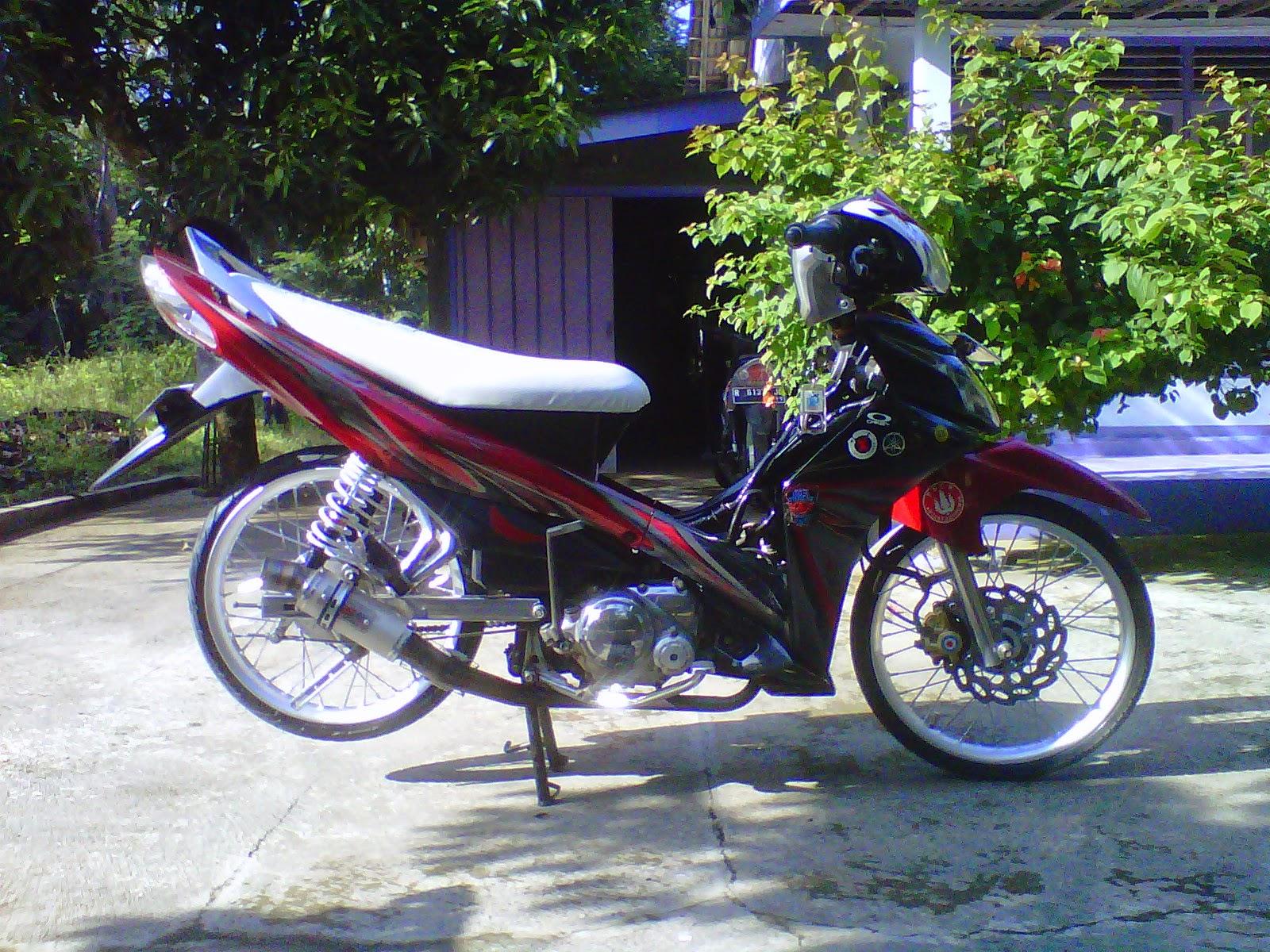 modifikasi motor jupiter mx standar sederhana minimalis terbaru
