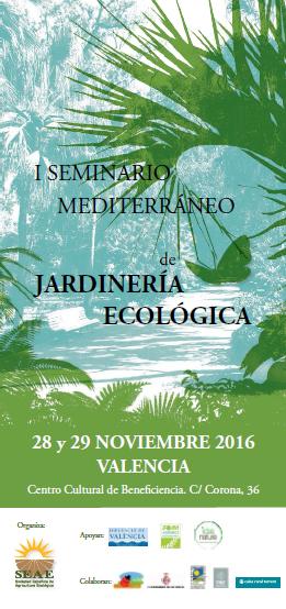 Aejeco i seminario internacional de jardiner a ecol gica for Jardineria ecologica