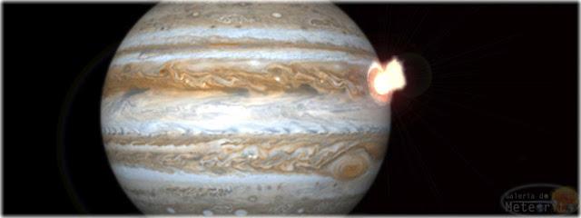 Júpiter foi atingido por um grande objeto - março