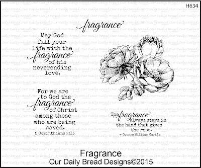Our Daily Bread Designs Stamp set: Fragrance