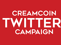 CREAMcoin twitter campaign bagian 2