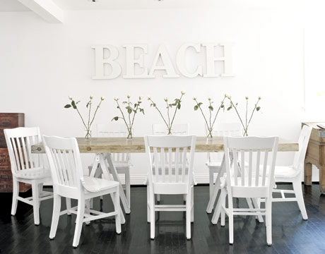 coastal accent wall decor ideas