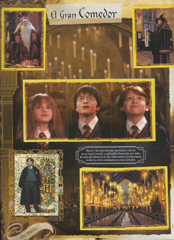 Cromos de Harry Potter