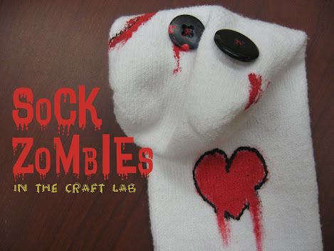 Craft Lab: Sock Zombies : library makers