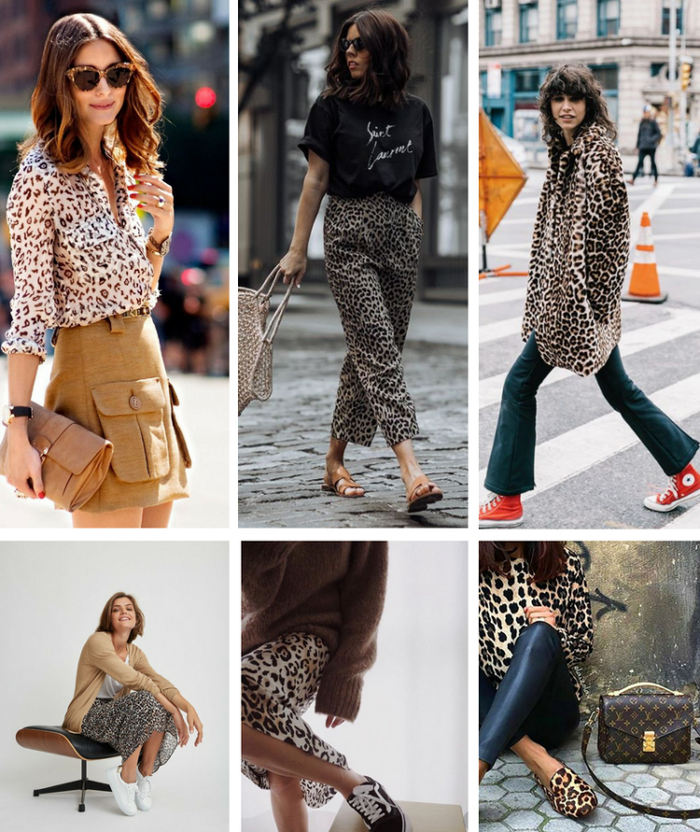 estampado animal print ideas de outfit ropa zapatos