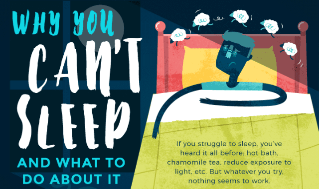 Why You Can't Sleep and What to Do About It