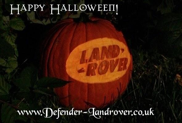 Landrover Defender: October 2014