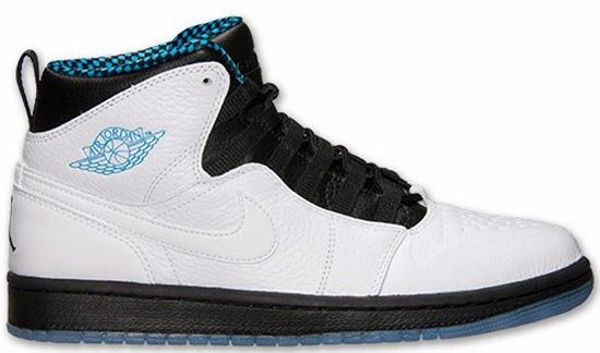 info for 004b1 a1625 Air Jordan 1 Retro  94 (02 08 2014) 631733-106 White Black-Dark Powder Blue   130.00
