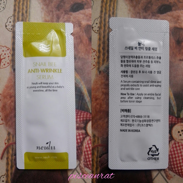 Neulii Snail Bee Anti-Wrinkle Serum