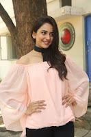 Rakul Preet Singh in lovely Pink Crop Top and Black Trousers at Jaya Janaki Nayaka success meet 007.JPG
