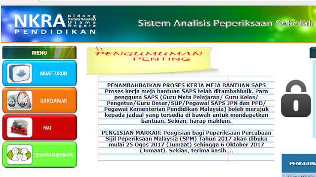 Ulasan Guru Kelas Dalam SAPS dan Buku Pelaporan