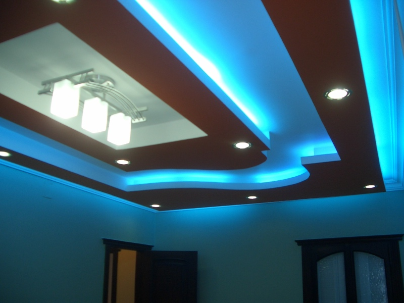 15 Ways to install LED Indirect Lighting for false ceiling ...