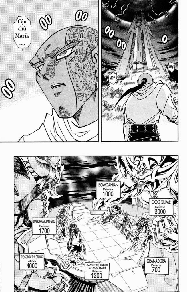 YUGI-OH! chap 274 - đòn tấn công từ bóng tối trang 4