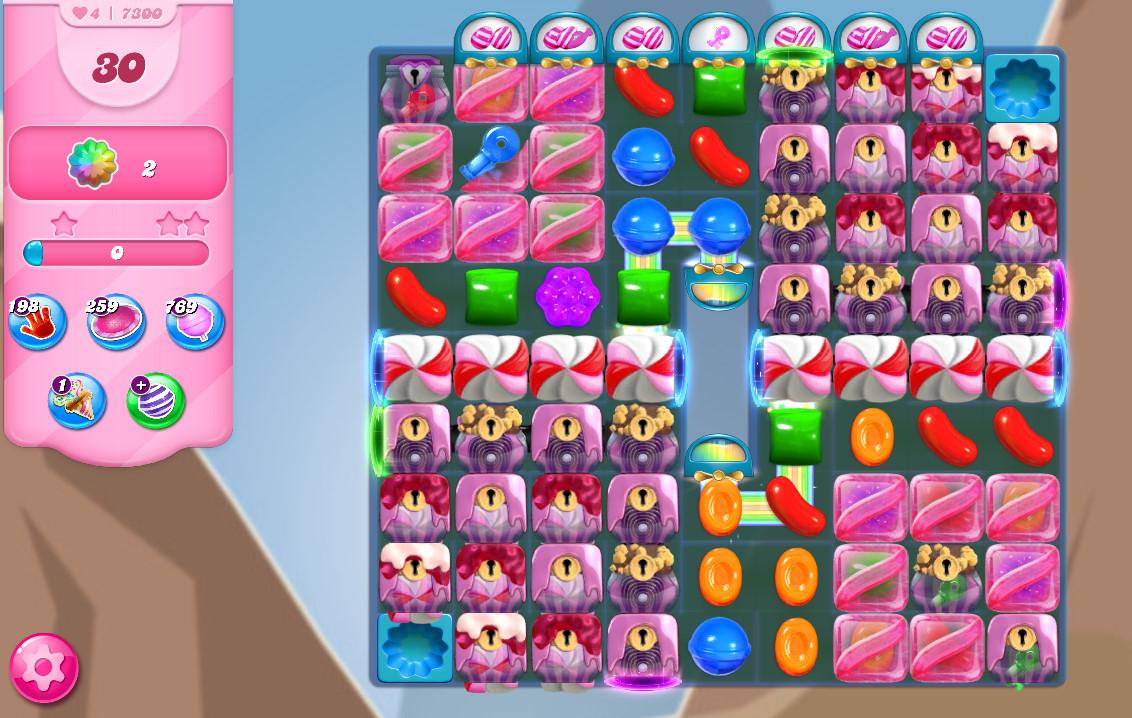 Candy Crush Saga level 7300