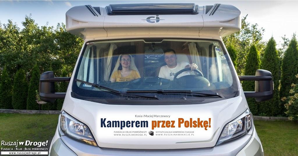 Ruszamy w Drogę Kamperem przez Polskę!