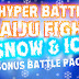 Exclusive Snow and Ice Bonus Battlepack for Hyper Battle Kaiju Fight Game
