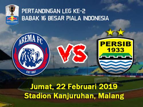 Persib VS Arema Piala Indonesia