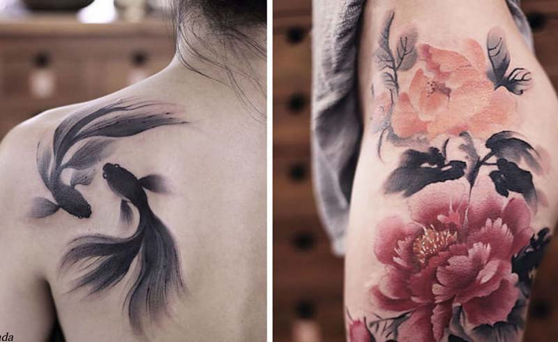 9 Watercolor Tattoos Will Make You Wish You Had One