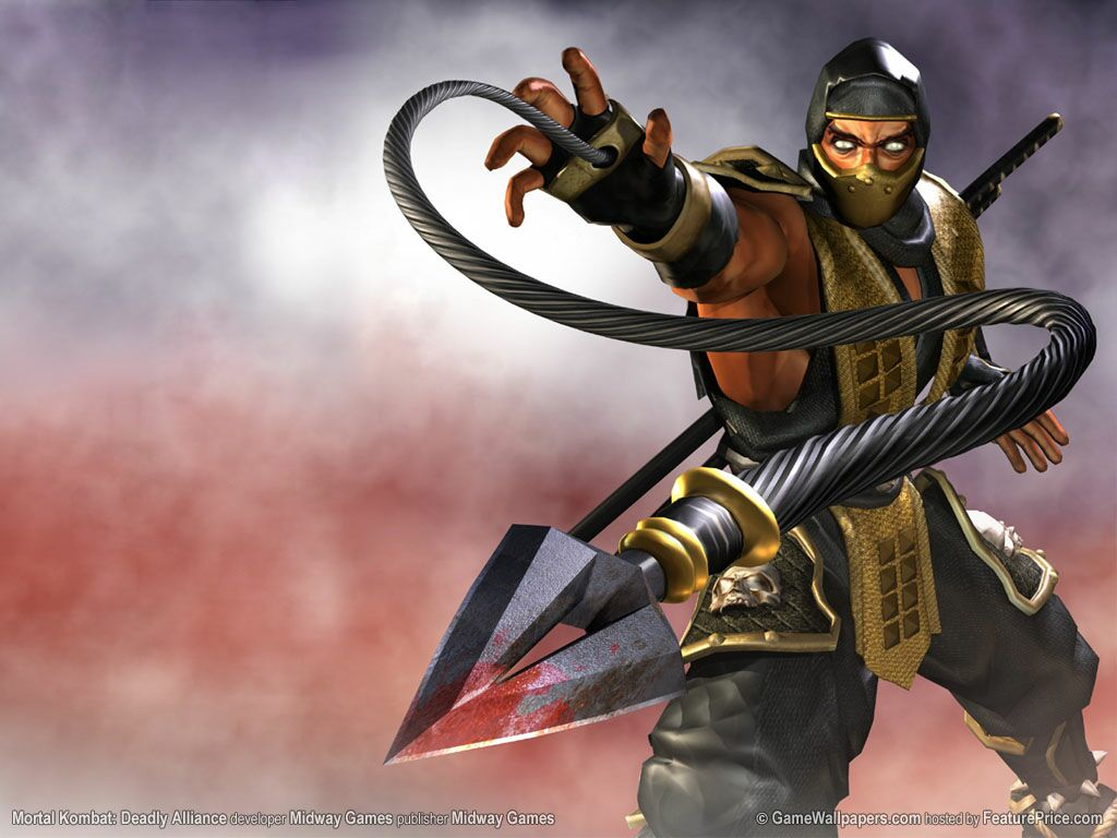 mortal kombat scorpion scorpion from mortal kombat drawings shinnok ...