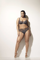 Ashley Graham sexy plus size lingerie model photoshoot