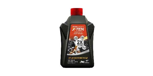 gambar oli X-Ten XT-40 New Vixion