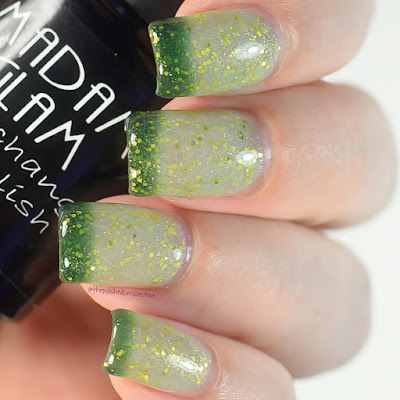 madam glam earth or paradise swatch