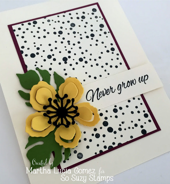 Martha Lucia Gomez Stampartpapel - Dot Splatter