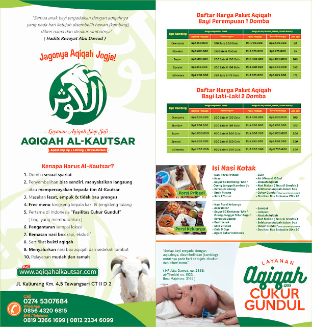 Harga Paket Catering Aqiqah Jogja