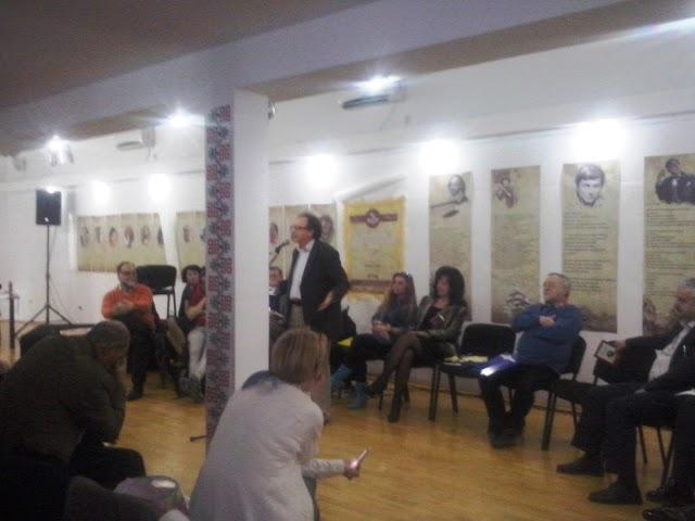 Intalnire cu poetul Arcadie Suceveanu