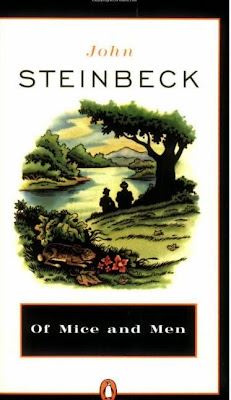 Of Mice and Men by John Steinbeck - book cover