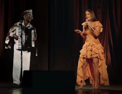 Ivete Sangalo e Luiz Gonzaga cantam juntos na Bahia