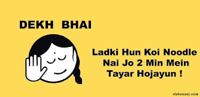 funny Hindi status for friends 2019