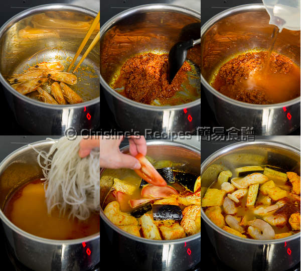 Tom Yam Noodle Soup Procedures