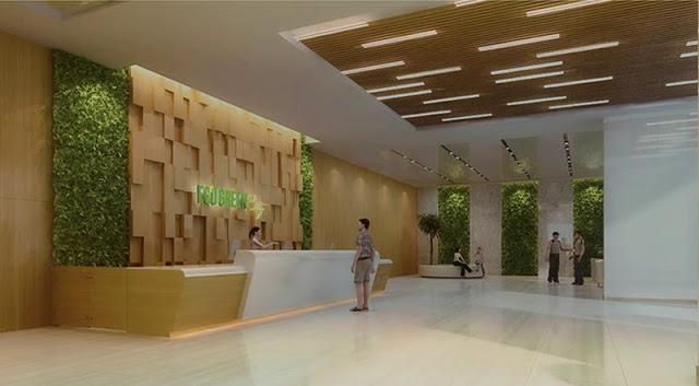 Sảnh dự án Eco Green City