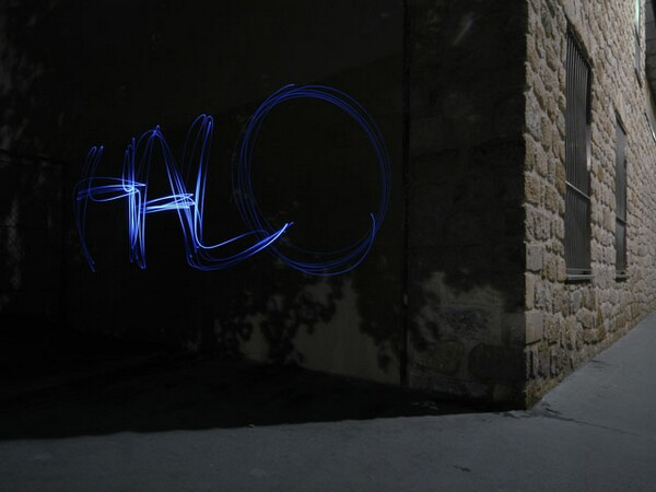 Halo Light Graffiti Spray