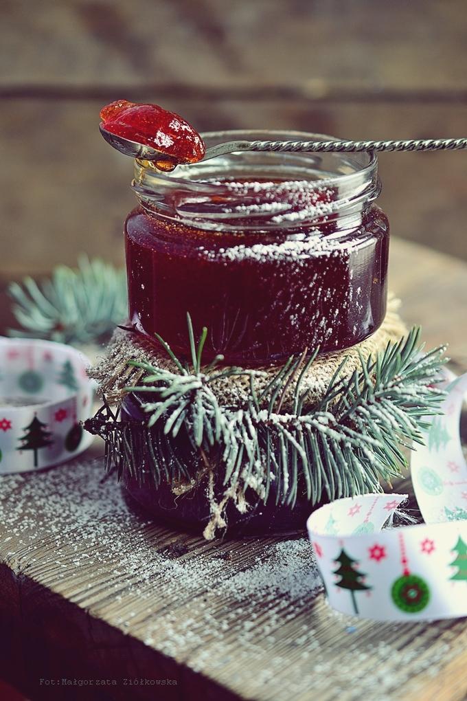 Galaretka winno jabłkowa idelana jako prezent pod choinkę :-)