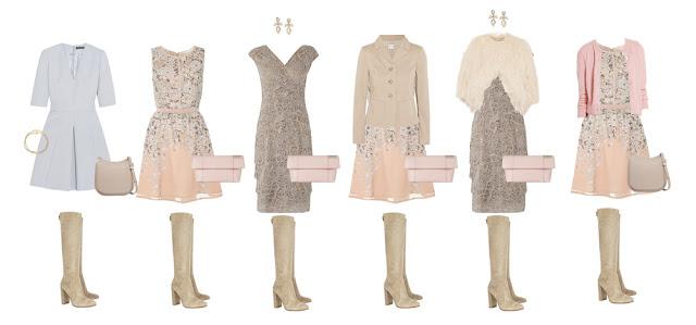 Комплекты гардероба в Романтическом стиле Project 333