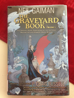 the graveyard book graphic novel photo
