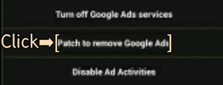 Patch To Remove Google Ads