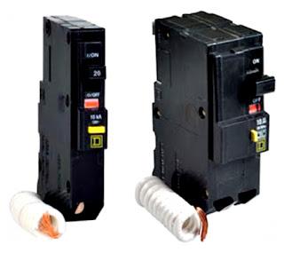 Instalaciones eléctricas residenciales - Interruptores termomagnéticos con protección de falla a tierra