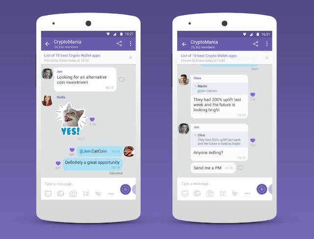 اصبح فايبر أول تطبيق يتيح إنشاء مجموعة بسعة مليار عضو